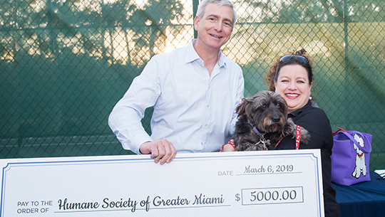 Giving back to our furry friends.